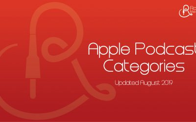 The New Apple Podcast Categories
