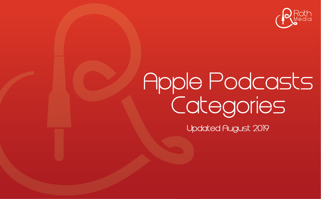 Have you updated your Apple Podcasts categories?
